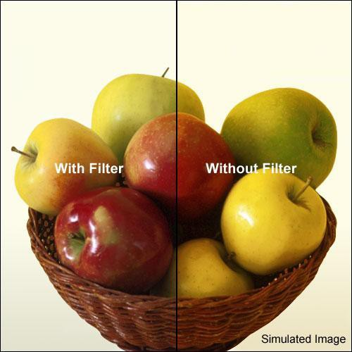 """Tiffen 5 x 5"""" 80D Color Conversion Filter"""