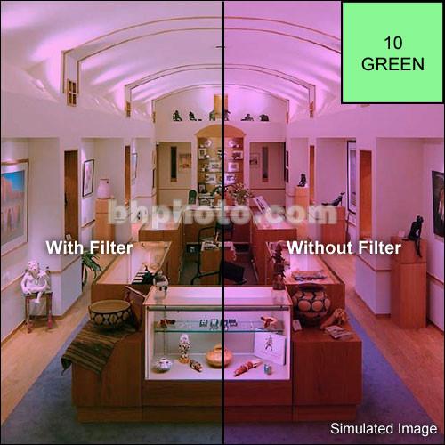 "Tiffen 5 x 5"" CC10G Green Filter"