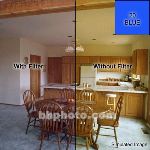 """Tiffen 5 x 5"""" CC20B Blue Filter"""