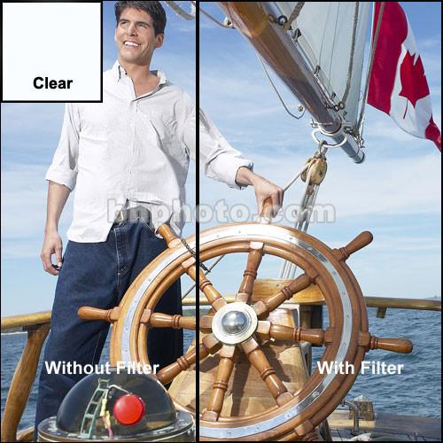 "Tiffen 5 x 5"" Clear Premium Water White Glass Filter"
