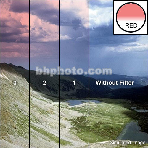 "Tiffen 5 x 5"" Complement Red 2 Filter"
