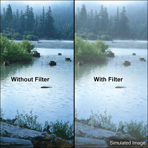 "Tiffen 5 x 5"" Double Fog 1/8 Filter"