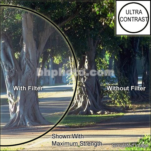 "Tiffen 5x5"" Low Light Ultra Contrast 4 Glass Filter"