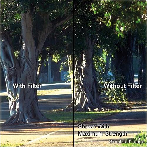 "Tiffen 5 x 5"" Soft Contrast 1 Glass Filter"