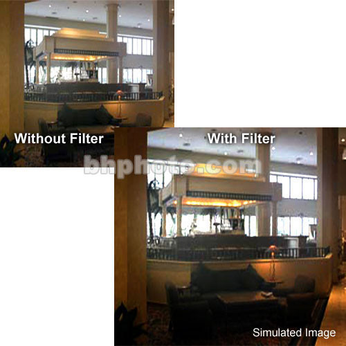 """Tiffen 5 x 5"""" Smoque 1 Camera Filter"""