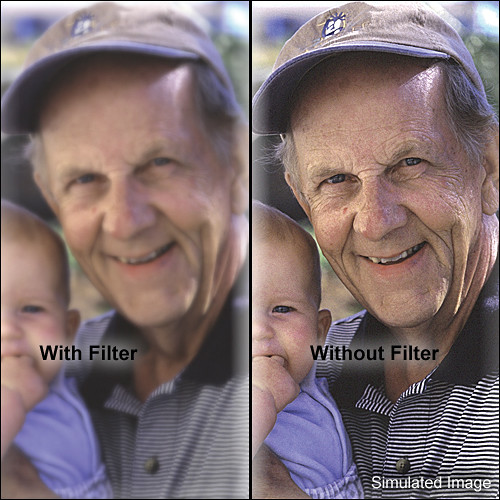 "Tiffen 5 x 5"" Softnet White 4 Filter"