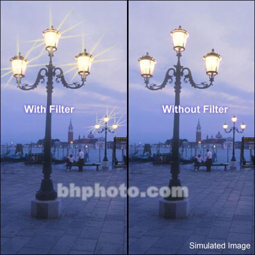 """Tiffen 5 x 5"""" Vector Star Effect Glass Filter"""
