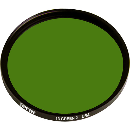 Tiffen 62mm #13 (2) Green Filter