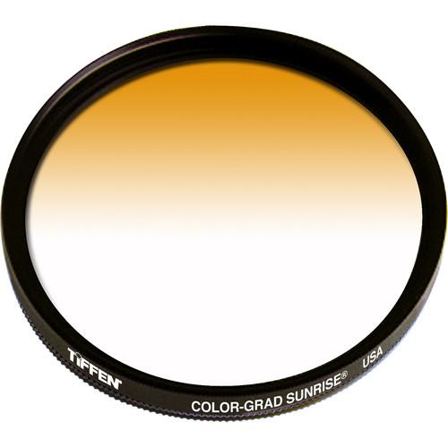 Tiffen 62mm Graduated Sunrise  Filter