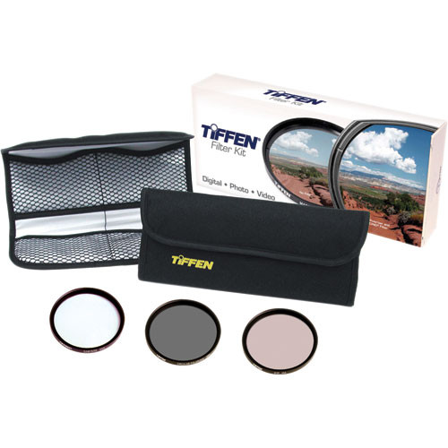 Tiffen 62mm Video Essentials DV Kit 3