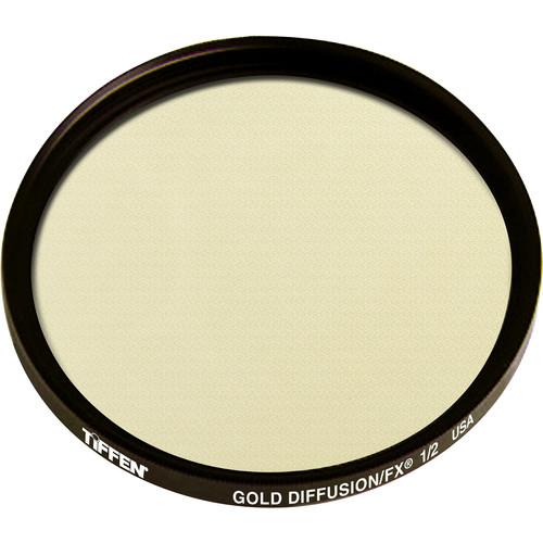 Tiffen 62mm Gold Diffusion/FX 1/2 Filter