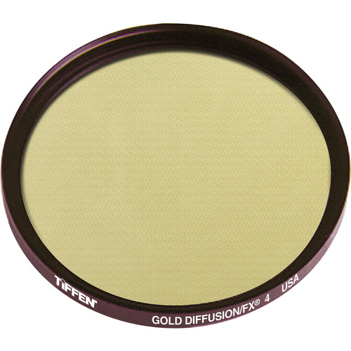 Tiffen 62mm Gold Diffusion/FX 4 Filter