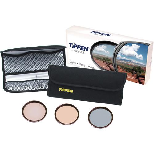 Tiffen 62mm Wedding & Portrait Kit (Warm Soft F/X 3, Black Pro Mist 3, Warm Pro Mist 3 Filters & 4 Pocket Pouch)