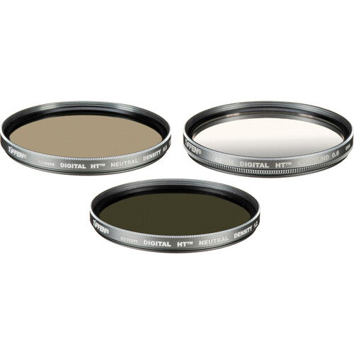 Tiffen 62mm Digital HT Neutral Density Filter Kit