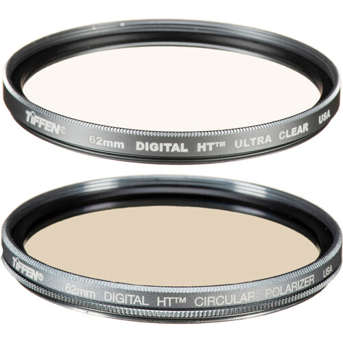 Tiffen 62mm Digital Twin Pack Filter Kit