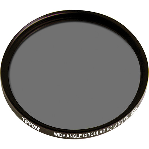 Tiffen 62mm Circular Polarizing Wide Angle (Low Profile Design) Filter