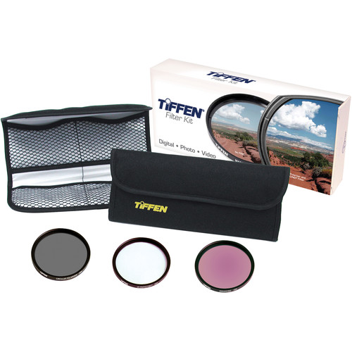 Tiffen 62mm Wide Angle Filter Kit