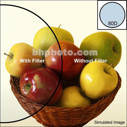 """Tiffen 4 x 6"""" 80D Color Conversion Filter"""