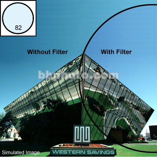 "Tiffen 4 x 6"" 82 Light Balancing Filter"