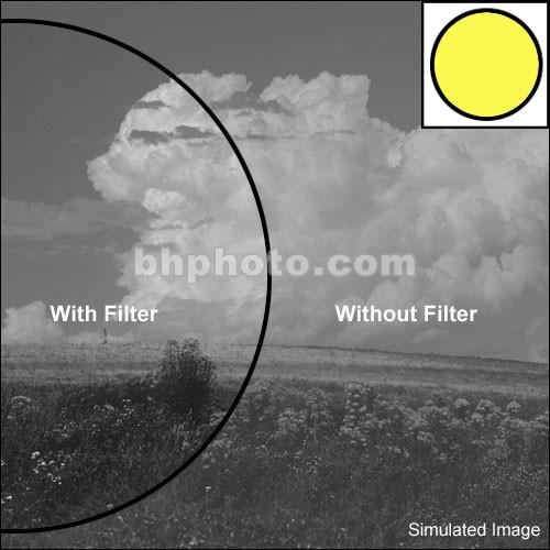 "Tiffen 4x6"" Yellow 8 Glass filter"