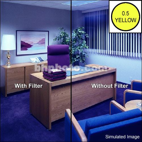 "Tiffen 4 x 6"" CC05Y Yellow Filter"