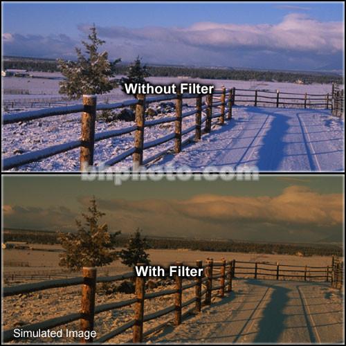 "Tiffen 4 x 6"" 2 Tobacco Soft-Edge Graduated Filter (Horizontal Orientation)"