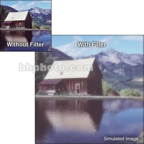 "Tiffen 6 x 4"" Fog 1/8 Filter"
