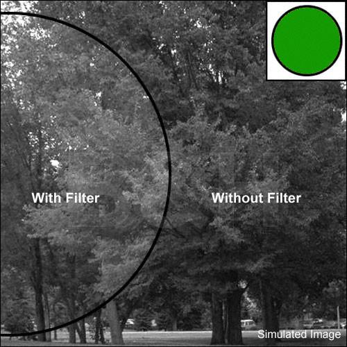 """Tiffen 6.6 x 6.6"""" Deep Green #61 Filter"""