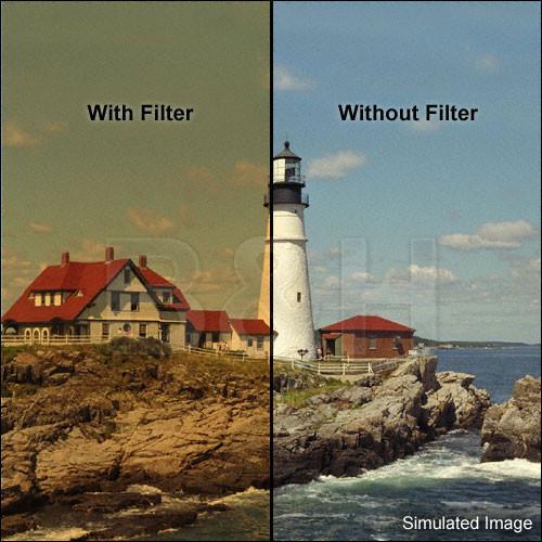 "Tiffen 6.6 x 6.6"" 4 Coral Solid Color Filter"