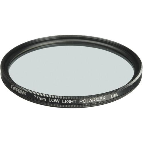 "Tiffen 6.6 x 6.6"" Low Light Polarizing Glass Filter"