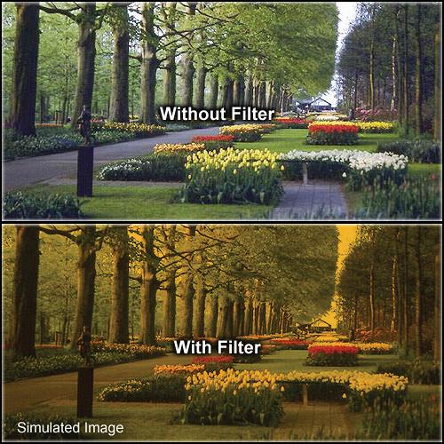 "Tiffen 6.6 x 6.6"" 3 Tangerine Solid Color Filter"