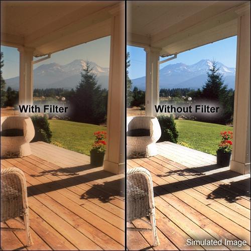 """Tiffen 6.6 x 6.6"""" Warm Black Pro-Mist 2 Filter"""