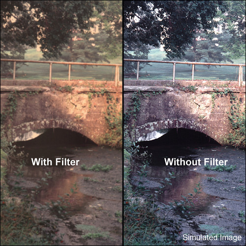 "Tiffen 6.6 x 6.6"" Warm Pro-Mist 1/2 Filter"
