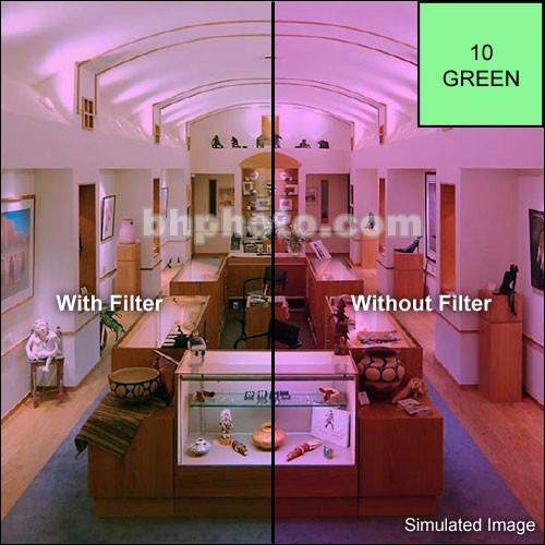 "Tiffen 6 x 6"" CC10G Green Filter"