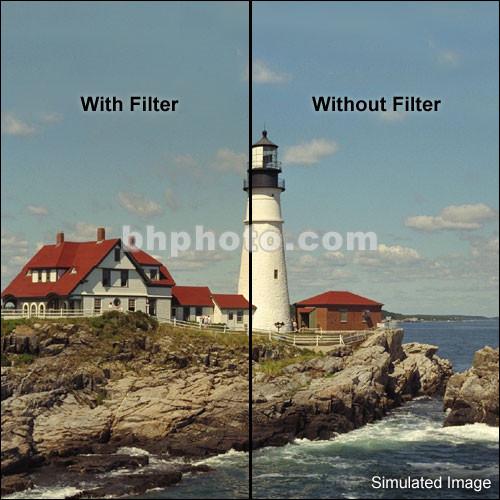 "Tiffen 6 x 6"" 1/4 Coral Solid Color Filter"