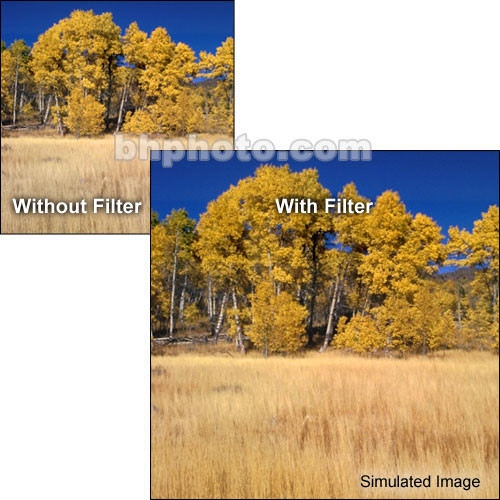 "Tiffen 6 x 6"" Complement Amber 1 Filter"
