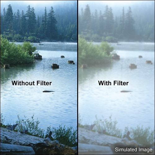 "Tiffen 6 x 6"" Double Fog 2 Filter"