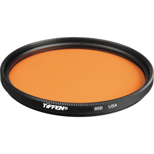"Tiffen 6"" Round 85B Color Conversion Filter (Mounted)"