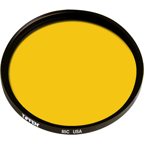 "Tiffen 6"" Round 85C Color Conversion Filter (Mounted)"