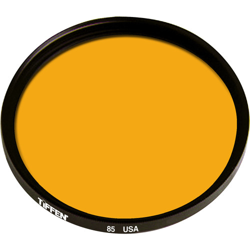 "Tiffen 6"" Round 85 Color Conversion Filter (Mounted)"