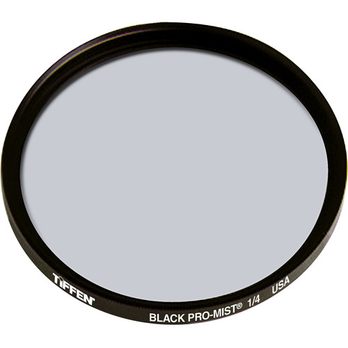 "Tiffen 6"" Round Black Pro-Mist 1/4 Filter (Unmounted)"