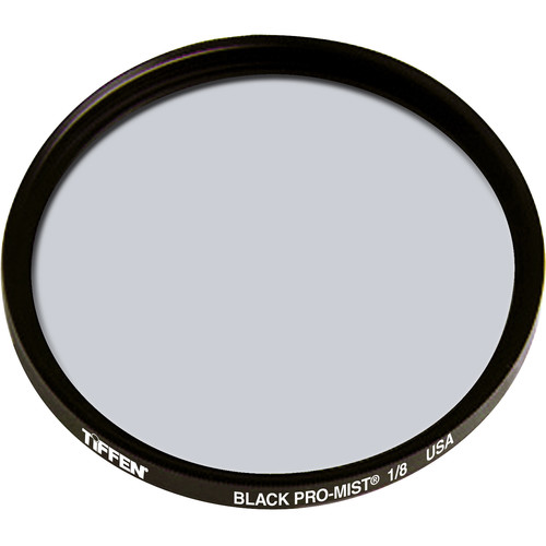 "Tiffen 6"" Round Black Pro-Mist 1/8 Filter"