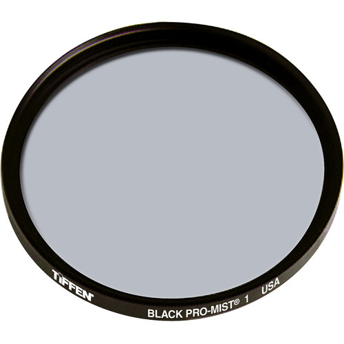 "Tiffen 6"" Round Black Pro-Mist 1 Filter"