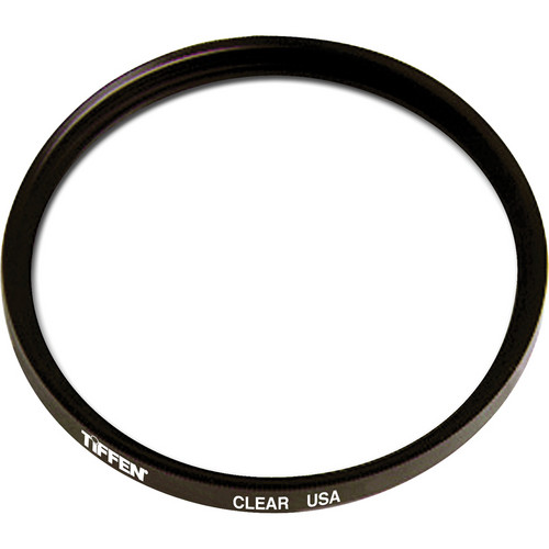 "Tiffen 6"" Round Clear Standard Coated Filter"