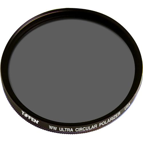 """Tiffen 6"""" Warm Ultra Circular Polarizing Water White Glass Filter (Unmounted)"""