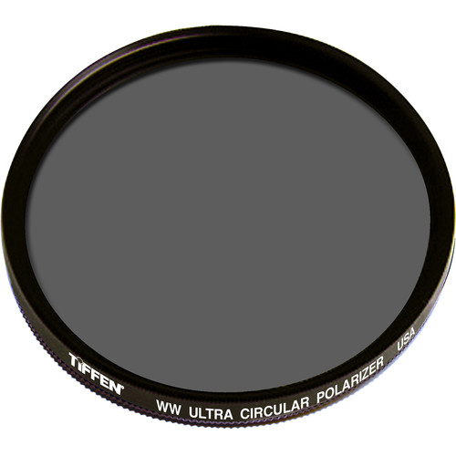 "Tiffen 6"" Warm Ultra Circular Polarizing Water White Glass Filter (Unmounted)"