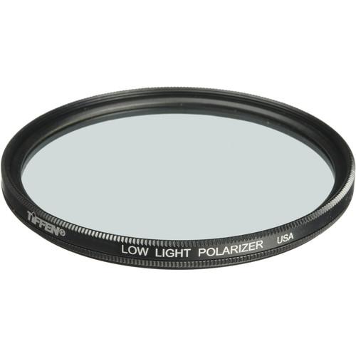 "Tiffen 6"" Low Light Polarizing Glass Filter"