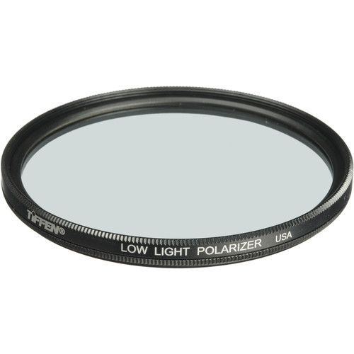 "Tiffen 6"" Low Light Polarizing Glass Filter"