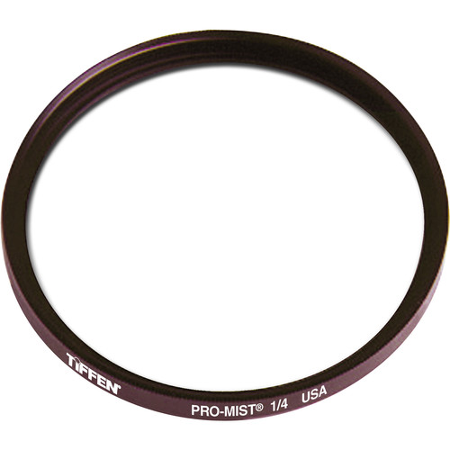 "Tiffen 6"" Round Pro-Mist 1/4 Filter (Unmounted)"