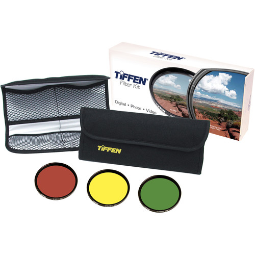 Tiffen 77mm Black & White Three Filter Kit